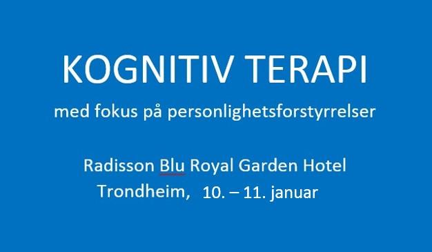 Kognitiv terapi - fokus på personlighetsforstyrrelser